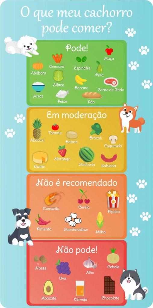 o que meu cachorro pode comer