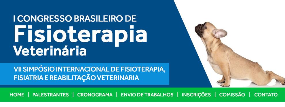 Congresso Brasileiro de Fisioterapia Veterinária