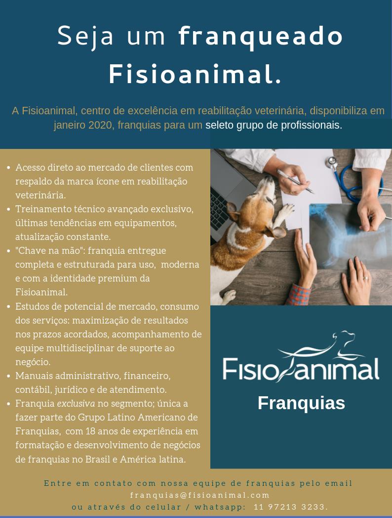 Fisioanimal - Franquias - Franquias